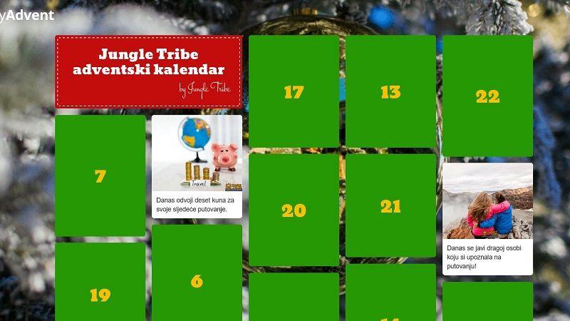 Jungle Tribe adventski kalendar
